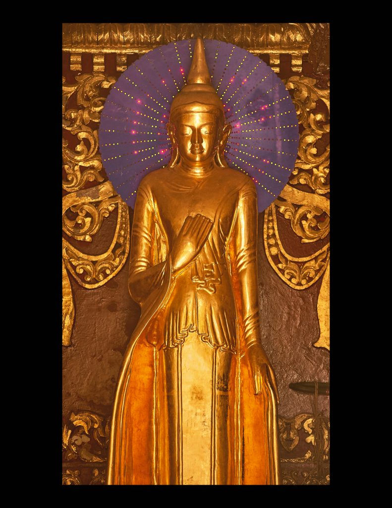 Thin Gold Buddha